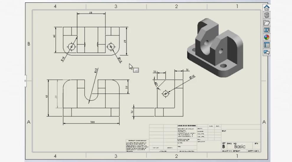 Training mysolidworks drawings and detailing ccuart Choice Image